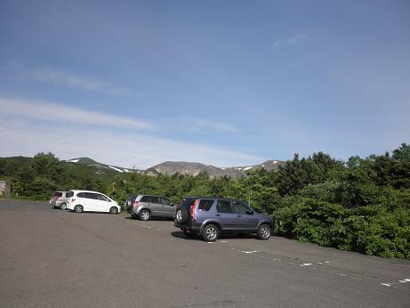 蔵王の駐車場