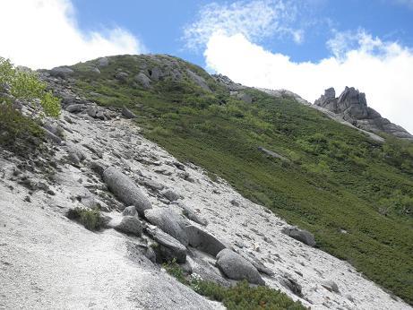 もうひとつの山頂