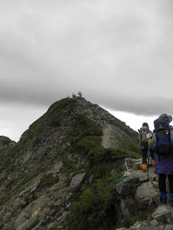 もうすぐ山頂2