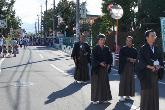 甲府の侍 学問祭り