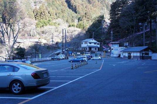 身延山久遠寺 お年頭式 駐車場