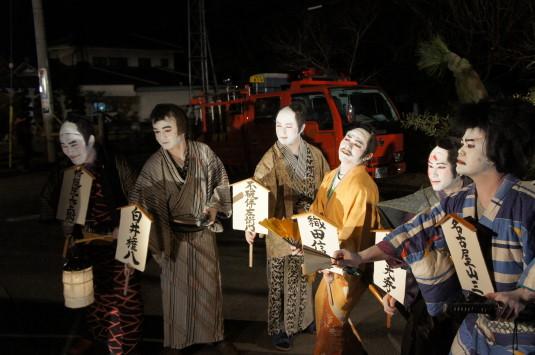 藤木道祖神祭り 記念撮影