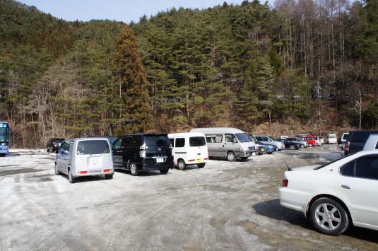 西湖樹氷祭り 駐車場