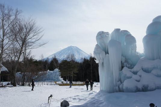 西湖樹氷祭り 外観