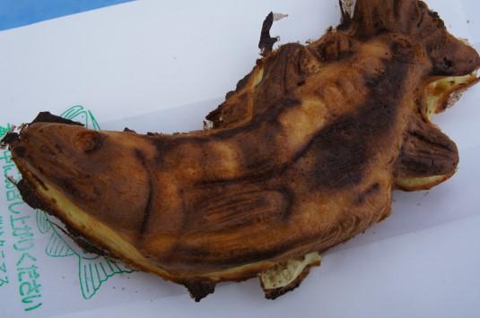 西湖樹氷祭り クニマス焼き