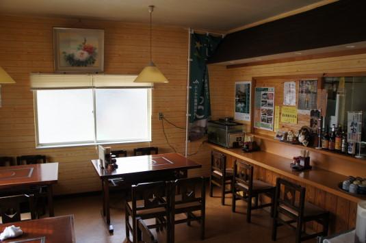 富士川焼きうどん 味菜 店内