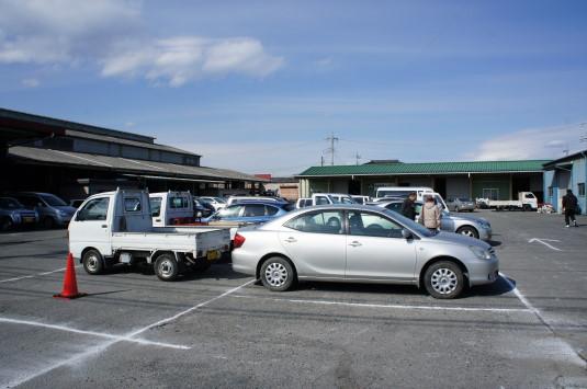 瓦会館まつり 駐車場