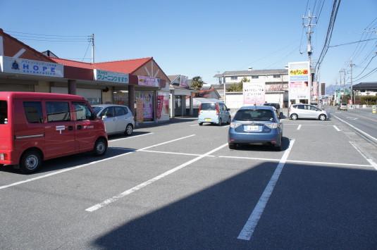 麺屋勝 駐車場
