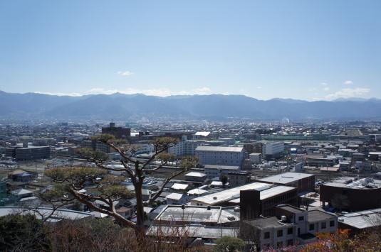 不老園 富士山