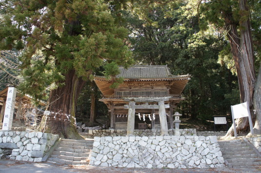 武田八幡宮 入口