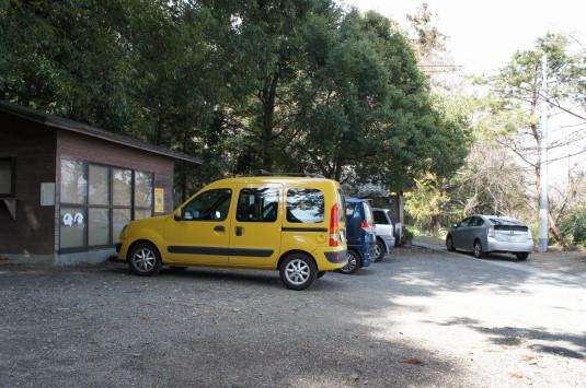 武田八幡宮 駐車場