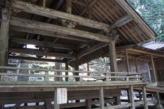 武田八幡宮 神楽