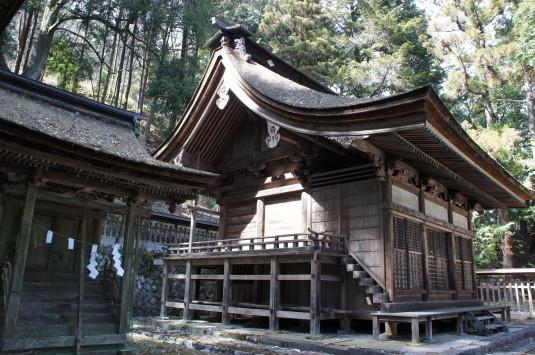 武田八幡宮 本殿