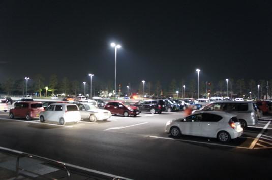 桜 小瀬スポーツ公園 駐車場