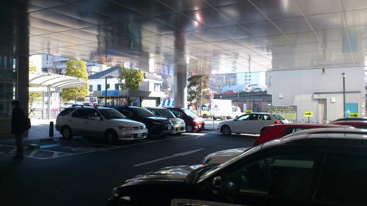 甲府駅北口青空市場 駐車場1