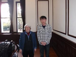 s-小畠先生小畠先生と2ショット