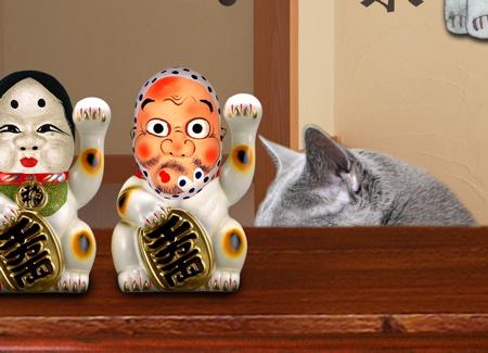 招き猫職猫14
