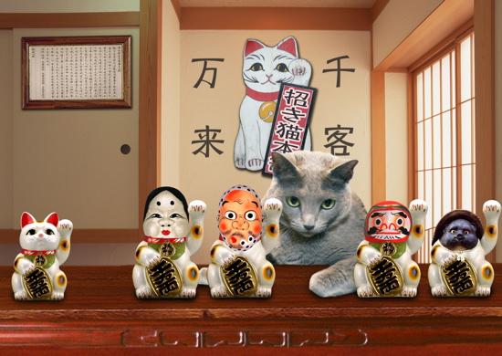 招き猫職猫12