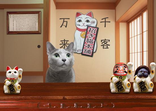 招き猫職猫9