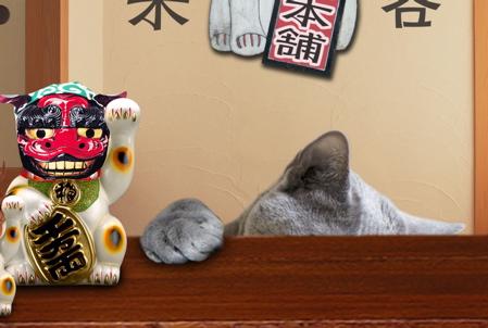 招き猫職猫18