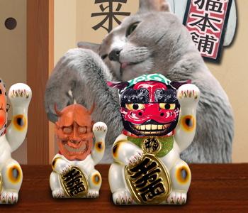 招き猫職猫16