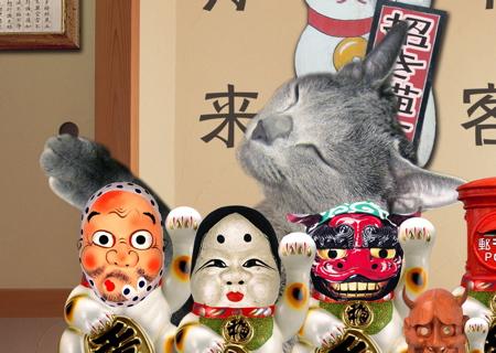 招き猫職猫25