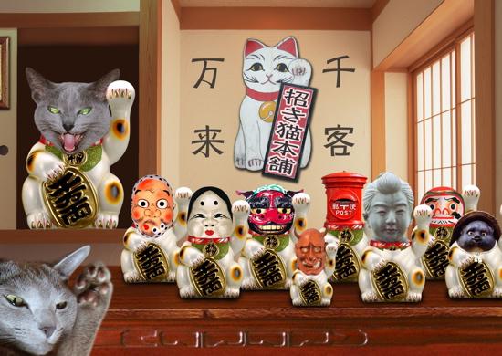 招き猫職猫28