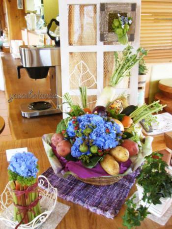 モナの丘野菜アレンジメント