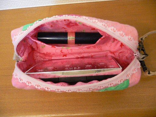 ペンケース大化粧品入れP1040909