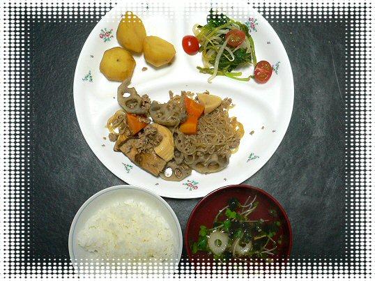 夕食タニタP1050229
