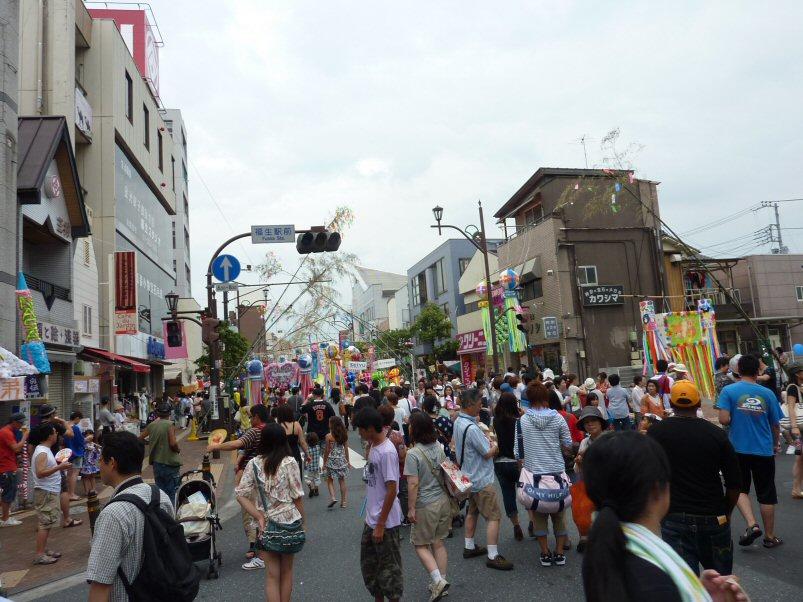 福生七夕祭りP1190086