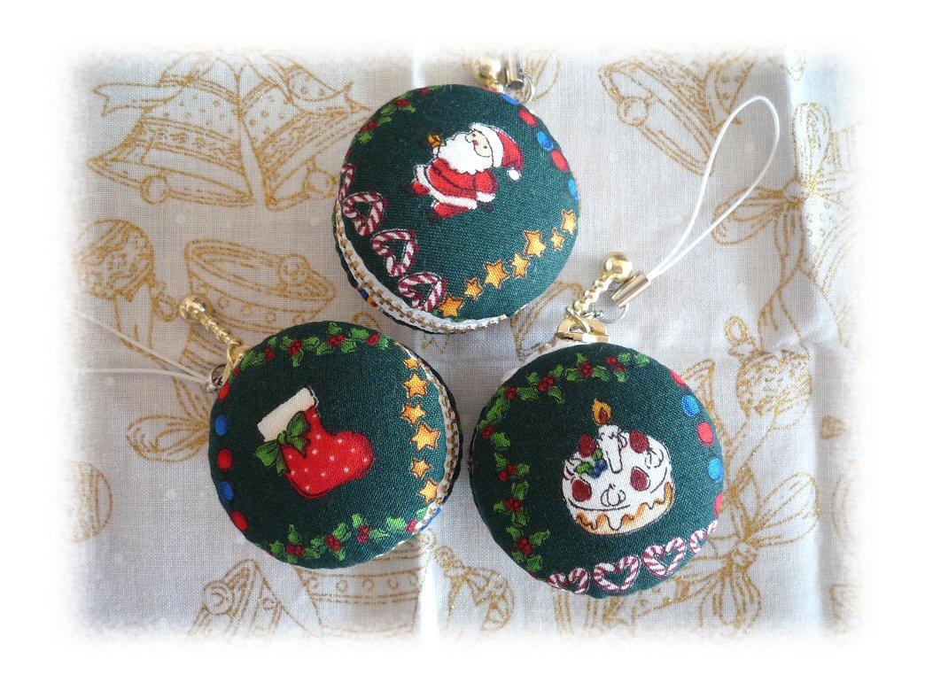 クリスマスマカロン3つP1010892