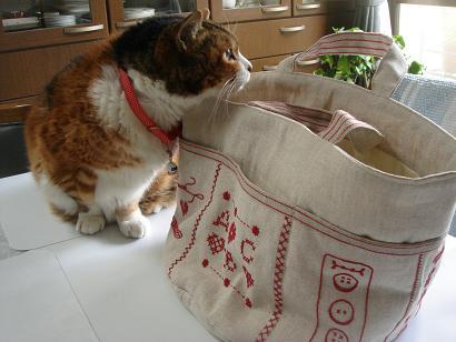チマサとバッグ