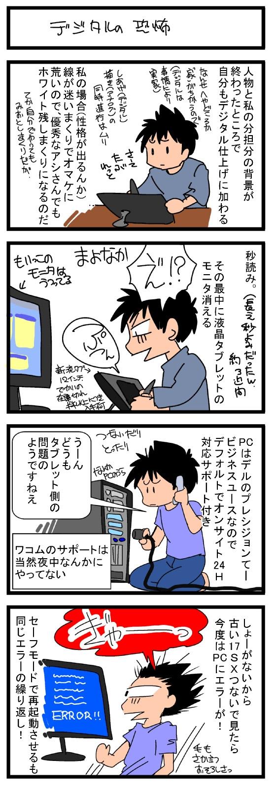 デジタルの恐怖