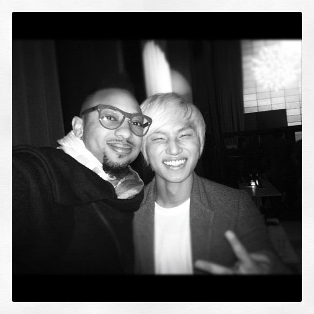 Justin w Daesung