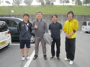 山本先生、岡西先生と一緒に