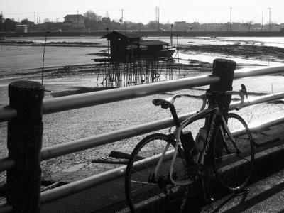 伊佐沼とマイバイク