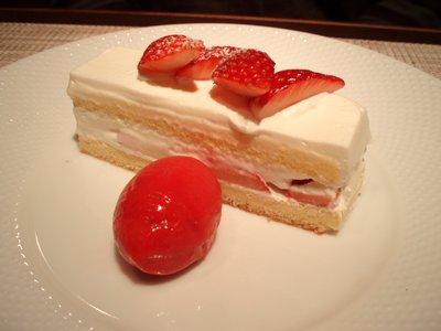 苺のショートケーキ@シャンドフルール