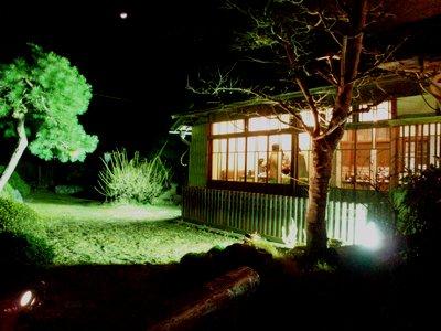 夜の庭@シャンドフルール