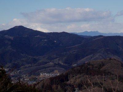 浅間山も寒そう@陣見山線
