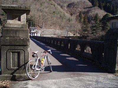 コンクリートダム@間瀬湖