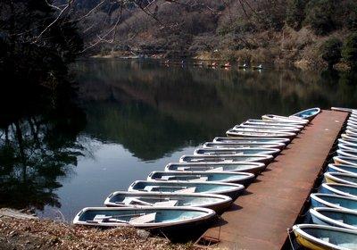 同月?度目の間瀬湖