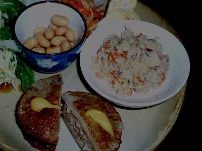 日本の夕ご飯?