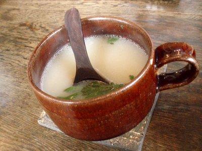 スープ@日替わりランチ(omo茶や。)