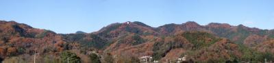 破風山付近の紅葉