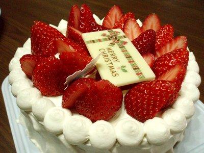 オーガニックなケーキ?
