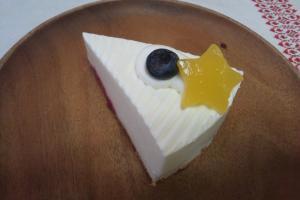 七夕レアチーズケーキ