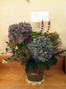 友人たちからいただいたお花