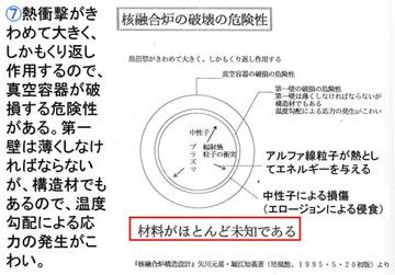 blog 広瀬隆「核融合」37