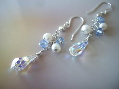 snow beautu earrings